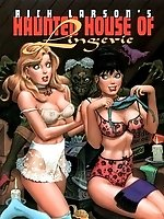 Babes in Haunted House Of Lingerie toons