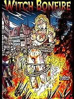 Brutal Middle Ages in the comics 'Witch Bonfire'