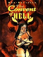 Devil and nuns in the comics `Convent Of Hell`