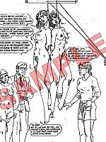 XXX cartoons of painful and perverted executions